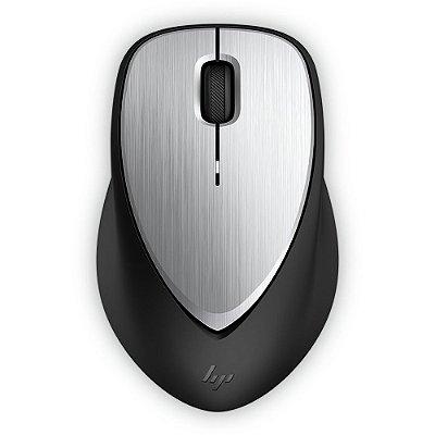 Mouse sem Fio Recarregável HP Envy 500 1600 Dpi 2LX92AA - Preto e Prata