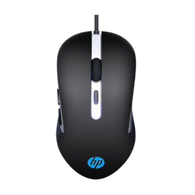 Mouse Gamer HP G210 Usb 2400 Dpi Led 7ZZ89AA - Preto