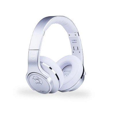 Headset Ballance PRO 2 em 1 Bluetooth V4.2 Silver - 6014663 - Dazz
