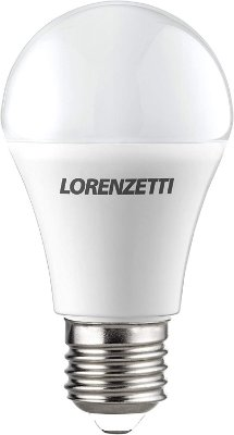 Lâmpada de LED Lorenzetti Bulbo 9w E27 6500K Luz Branca