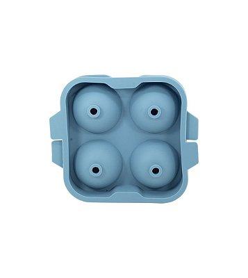 Forma de Silicone Oikos para Gelo Esférico - Azul