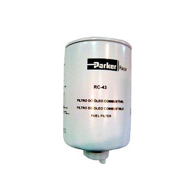 Filtro de Combustível Separador de Água - RC-43 - Parker