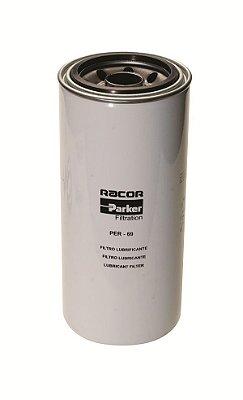 Filtro Lubrificante - PER-69 - Parker - 2P4005 - 1R0716 - B99 - LF691A - P554005