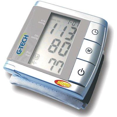 Aparelho de Pressão Digital Automático de Pulso G-Tech BP3BK1 - Cinza
