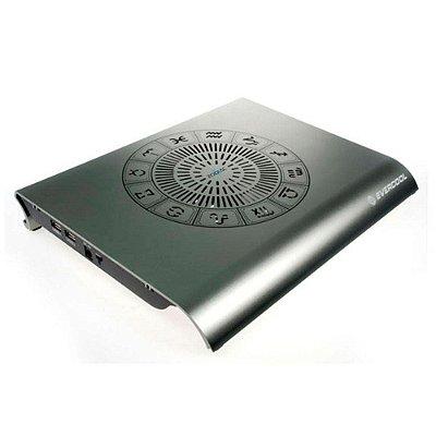 "Base para Notebook até 14"" Evercool Zodiac II NP-311T Cooler - Alumínio"