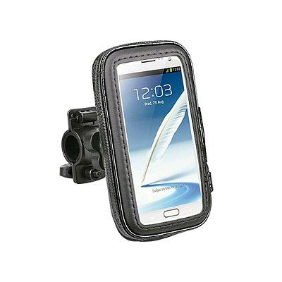 Bolsa Suporte Celular C3Tech para Moto e Bicicleta Resistente a Água MHB-01BK - Preto