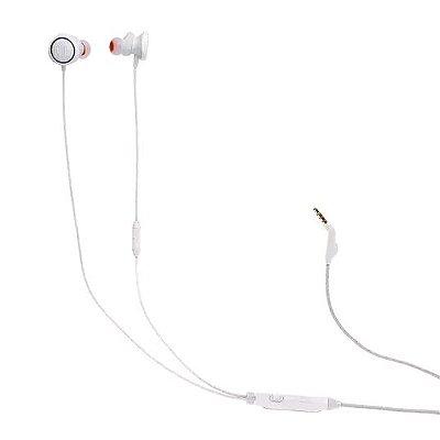 Fone de Ouvido Intra-Auricular JBL Quantum 50 com Microfone - Branco