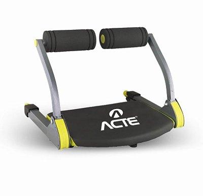 Aparelho Abdominal Treino 3 em 1 Fitness Acte Sports  E21 - Amarelo