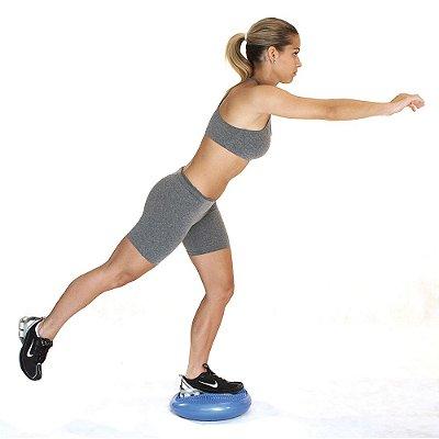 Disco de Equilíbrio Acte Sports T6-AZ com Bomba de Ar - Azul