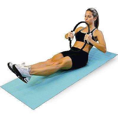 Anel de Pilates Acte Sports T12 - Cinza e Preto