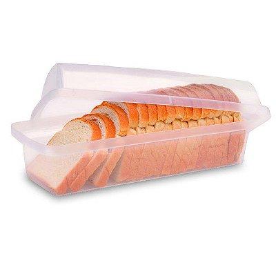 Porta Pão de Plástico Sanremo - Branco