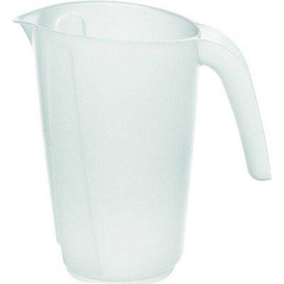 Jarra Medidora de Plástico Sanremo 1L - Branco