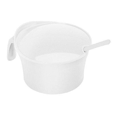 Açucareiro de Plástico Sanremo Casar 350ml - Branco