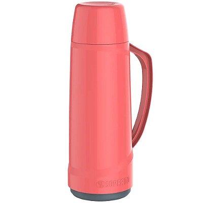 Garrafa Térmica Soprano 1 Litro Cristal - Rosa