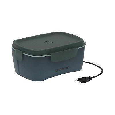 Marmita Elétrica Soprano Tekcor 1,2L Bivolt - Cinza
