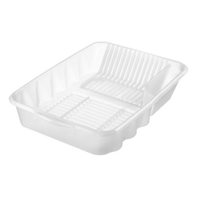 Escorredor de Louça de Plástico Sanremo Casar 53,4x37,7x11,4cm - Branco