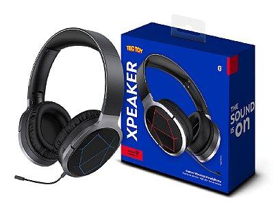 Headset Gamer Sem Fio Bluetooth Preto - Xpeaker 995810121849 - Tectoy