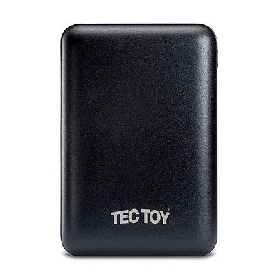 Carregador Portátil Tectoy Power Bank XCharge 10000mah - Preto