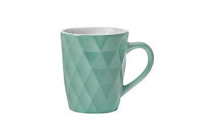Caneca de Porcelana Hauskraft Textura Zima 360ml - Verde
