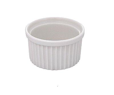 Ramequim de Porcelana Hauskraft 250ml 10cm - Branco