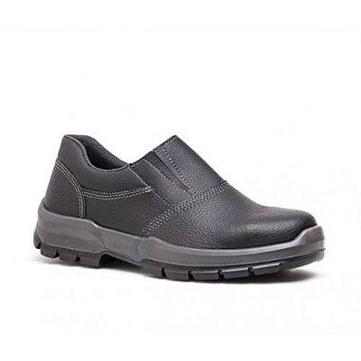 Sapato de Segurança Fujiwara Biqueira de Plástico 4065LNFS4600FX - Preto