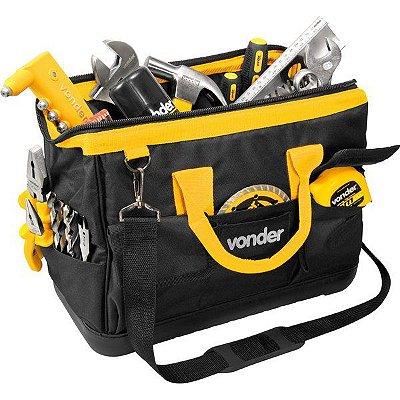 Bolsa em Lona para Farramentas Vonder - Preta e Amarelo