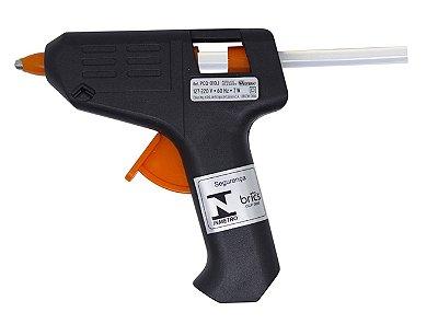 Mini Pistola Bivolt para Cola Quente Western 10w - Preto