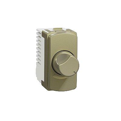 Módulo Dimmer Rotativo Miluz Dourado 127V - S3B75583 - Schneider Electric