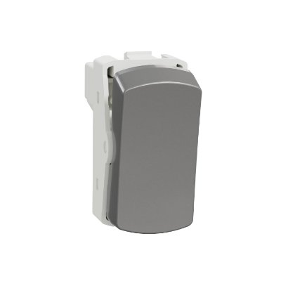 Módulo Interruptor Paralelo 10AX 250V Miluz Alumínio - S3B72032 - Schneider Electric