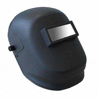 Máscara de Solda Carbografite CA15083 Advanced Visor Fixo Com Catraca - Preta