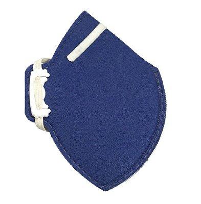 Respirador Descartável Classe PFF1 S Carbografite CA11035 CG411 - Azul