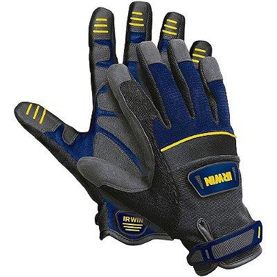 Luva Profissional para Uso Geral - Cinza e Azul - 432005 - Irwin