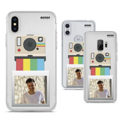 Capinha Personalizada - Foto - Camera Polaroid Vintage