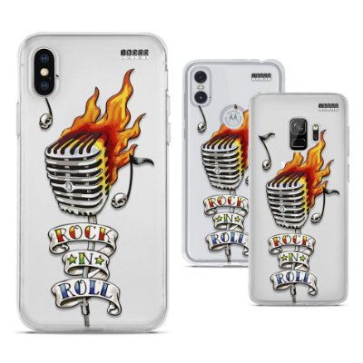 Capinha - Microfone Rock