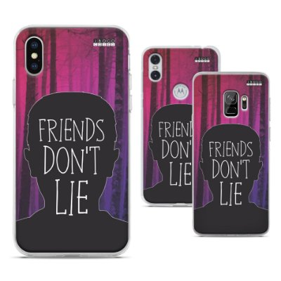 Capinha Stranger Things - Friends don't lie
