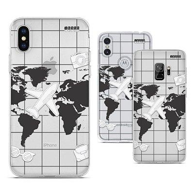 Capinha - Mapa mundo
