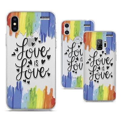 Capinha - Love is love Arco-iris