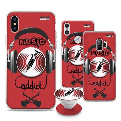 Capinha iPOP -  Music Addict