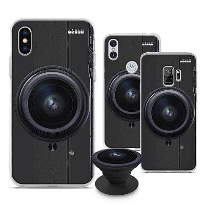 Capinha iPOP -  Câmera Lente