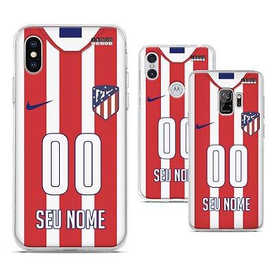 Capinha - Camisa 1 Atletico de Madrid - Personalizada Nome e Numero