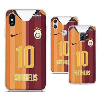 Capinha - Camisa 1 Galatasaray - Personalizada Nome e Numero