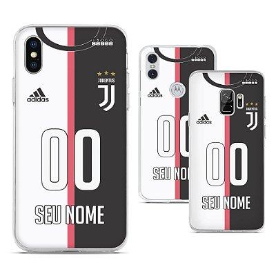 Capinha - Camisa Juventus - Personalizada Nome e Numero