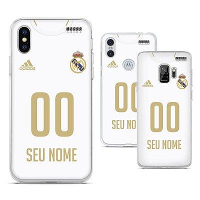 Capinha - Camisa Real Madrid 1 - Personalizada Nome e Numero
