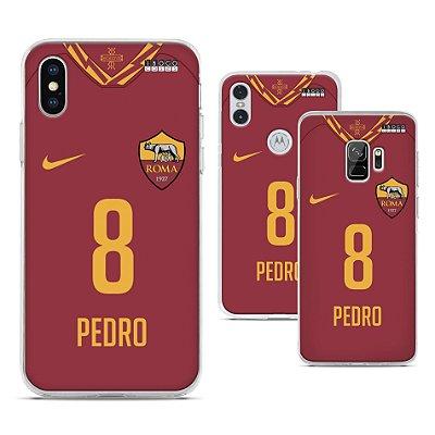 Capinha - Camisa Roma - Personalizada Nome e Numero