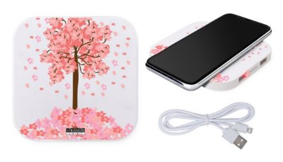 CARREGADOR WIRELESS - SAKURA
