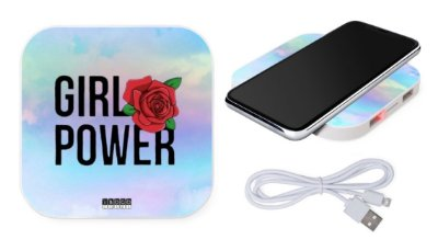 CARREGADOR WIRELESS - GIRL POWER