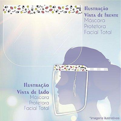Máscara de Proteção Facial Total - Bocas e Olhos