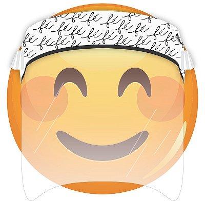 Máscara de Proteção Facial Total - Fé