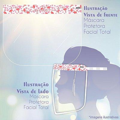 Máscara de Proteção Facial Total - Flamingo Sonhe