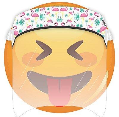 Máscara de Proteção Facial Total - Flamingo